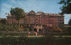 The Inn - In the Pocono Mountains Postcard