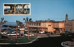 The Lighthouse Restaurant On Oceanfront & Rudee Inlet Postcard