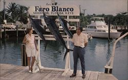 A Days Catch at Faro Blanco Postcard