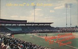 Take Me Out to the Ball Game - Yankee Stadium Postcard