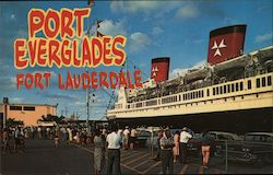 Port Everglades Postcard