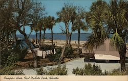 Campers Area, Fort Desoto Park, Florida