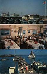Capt. Starn's Restaurant and Boating Center at Inlet Postcard
