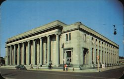 United States Post Office and Federal Building Rockford, IL Postcard