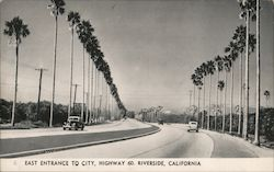 East Entrance to City, Highway 60 Postcard