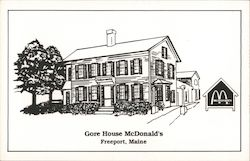 Gore House McDonald's Postcard
