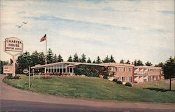 Charter House Motor Hotel Postcard