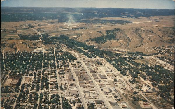 Aerial view of Rapid City, South Dakota