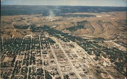 Aerial view of Rapid City, South Dakota Postcard