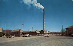 Smelter Smokestack Postcard