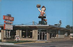 Big Boy Restaurant Postcard