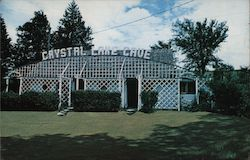 Entrance to Crystal Lake Cave Postcard