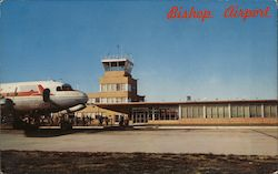 Bishop Airport Postcard