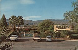 Gates of the Desert Lounge Postcard