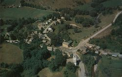 Aerial View of Pawlet Postcard