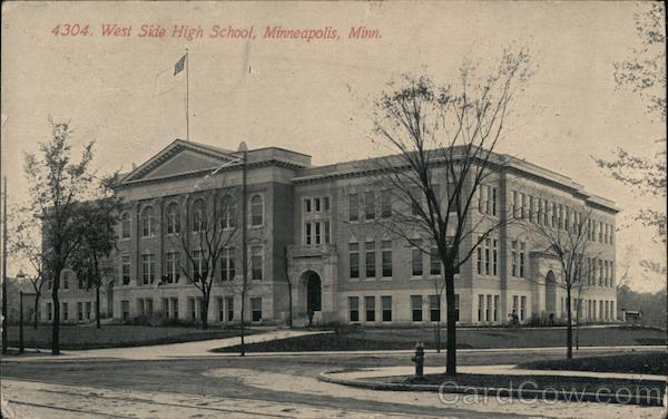 West Side High School Minneapolis Minnesota