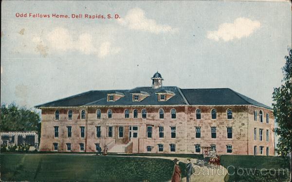 Odd Fellows Home, Dell Rapids, S.D. South Dakota