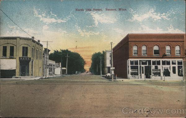 North 13th Street Benson Minnesota