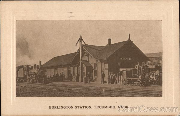 Burlington Station Tecumseh Nebraska