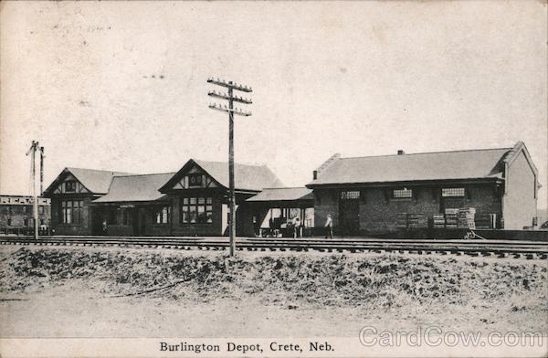 Burlington Depot Crete Nebraska