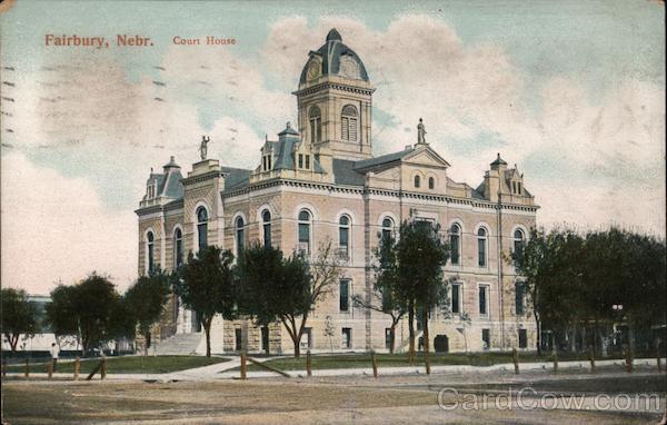 Court House Fairbury Nebraska