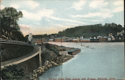 Harbor View from Laurel Hill Bridge Postcard