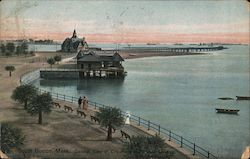 General View of City Point and Public Landing Postcard