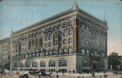 Y.M.C.A. Building, St. Paul. Minn. Postcard