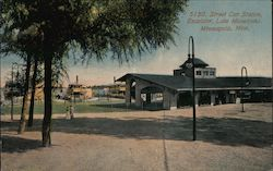 Street Car Station, Excelsior, Lake Minnetonka