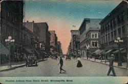 Nicollet Avenue From Ninth Street