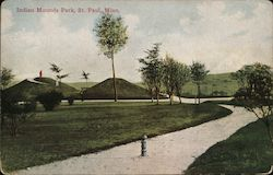 Indian Mounds Park Postcard