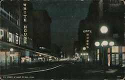 Street at Night Postcard
