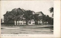East Side High School, Minneapolis, Minn. Postcard