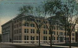 The Auditorium, Minneapolis, Minn. Postcard