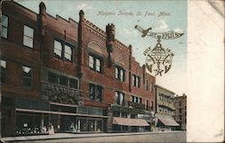Masonic Temple, St. Paul, Minn. Postcard