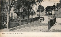 Selby Avenue Tunnel Postcard