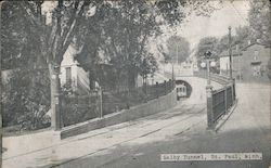 Selby Tunnel Postcard