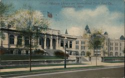 Pillsbury Library and International Stock Food Company Postcard