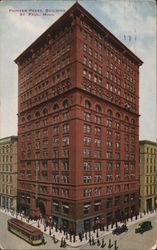 Pioneer Press Building Postcard