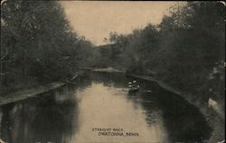 Straight River Postcard