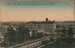 View Taken From Court House Tower Postcard