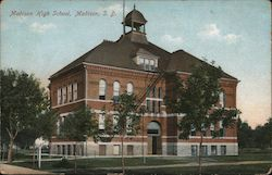Madison High School Postcard