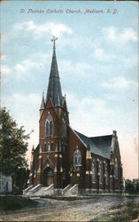 St. Thomas Catholic Church Postcard