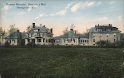 Heaton Hospital, Seminary Hill Postcard