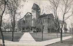 Central High School Postcard