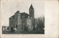 Lincoln County Court House Postcard