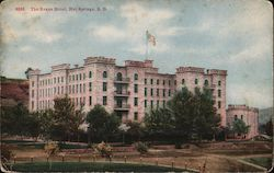 The Evans Hotel Postcard