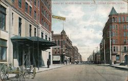Third Street North From Third Avenue Postcard