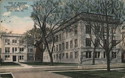 Hall of Anatomy and Medical Laboratories Building, University of Iowa Postcard