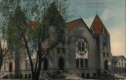 Central Church of Christ Postcard